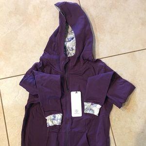 Amari Alpine zip hoodie